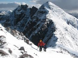 An Teallach in the winter