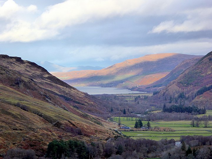 Loch Broom from the A832 near Braemore Junction